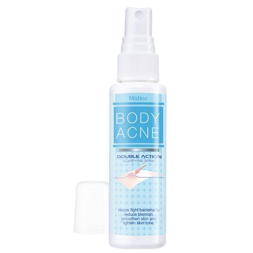 Mistine Body Acne Double Action Clarifying Spray 50 ml.