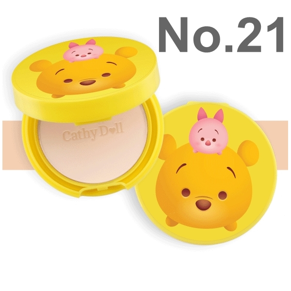 Karmarts Cathy Doll Disney Tsum Tsum Powder Pact SPF 40 PA+++ 4.5 g. No.21 Light Beige