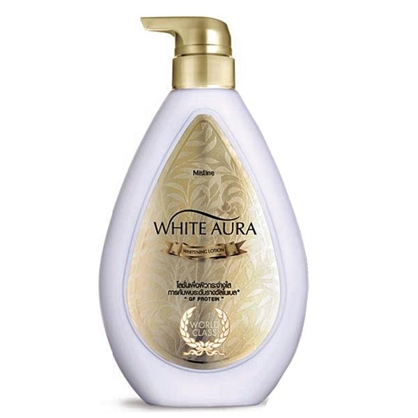Mistine White Aura Whitening Lotion 400 ml.