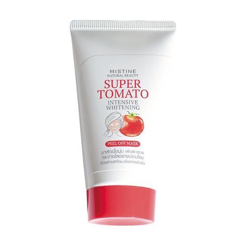 Mistine Natural Beauty Super Tomato Intensive Whitening Peel off Mask 50 g.