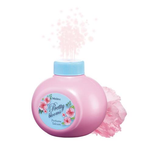 Mistine Pretty Blooms Perfume Talcum 100 g.