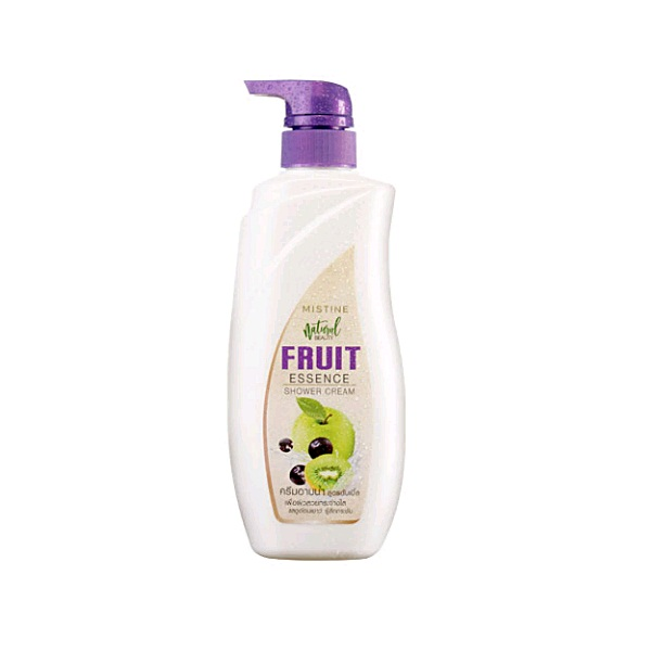 Mistine Natural Beauty Fruit Essence Shower Cream 480 ml.