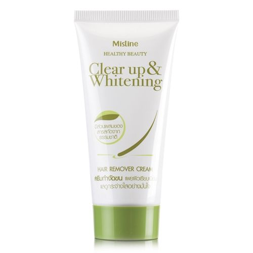 Mistine Healthy Beauty Clear Up & Whitening Hair Remover Cream 50 g.