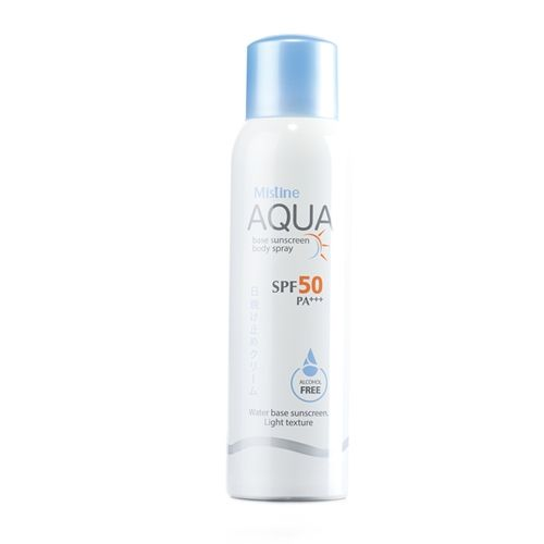 Mistine Aqua Base Sunscreen Body Spray SPF 50 PA+++ 100 ml.
