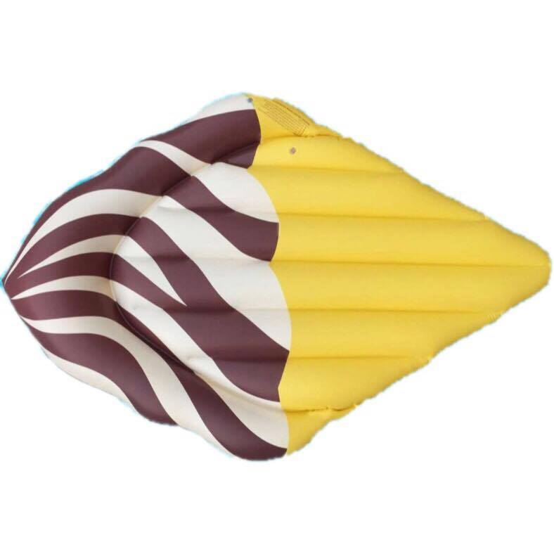 Popsicle raft chocolate