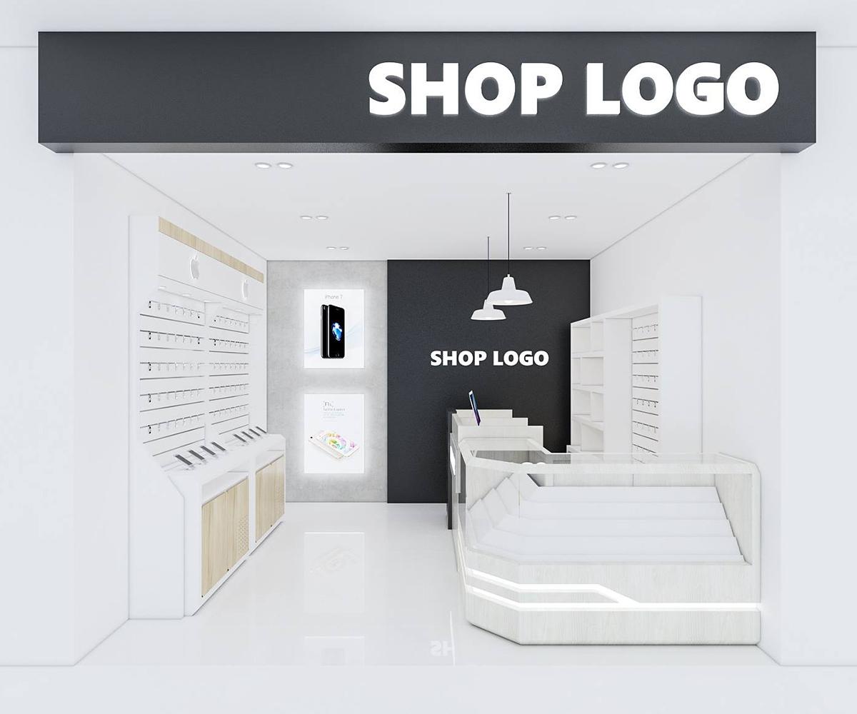 Shop set design 3