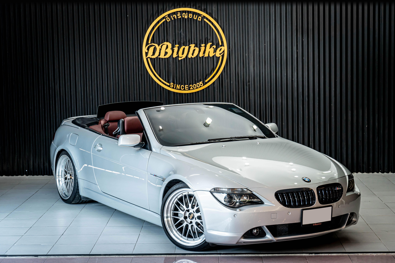 BMW e64 650i Cabriolet E64 V8 รถปี 2006 เจ้าของขายเอง