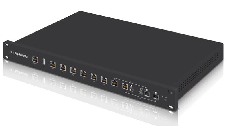 ER-8  Edge Router 8-Port Gigabit Ethernet Forward rate 2 million pps