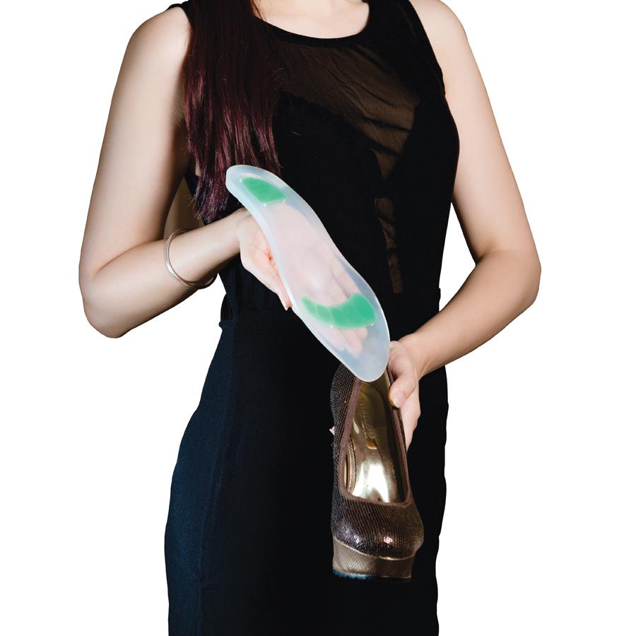 แผ่นซิลิโคนรองเท้าเพื่อสุขภาพ (Insole Full Silicone)