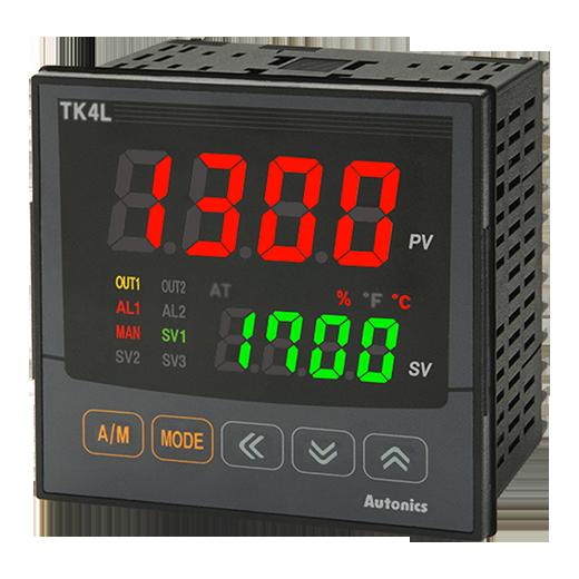 เครื่องวัดและควบคุมอุณหภูมิแบบดิจิตอล TK4L-24RN