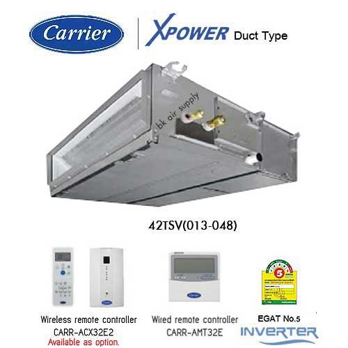 Carrier Inverter 42TSV Ducted Type_Bkairsupply
