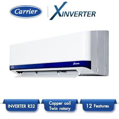 แอร์แคเรียร์ แบบติดผนัง อินเวอร์เตอร์ Carrier X-Inverter