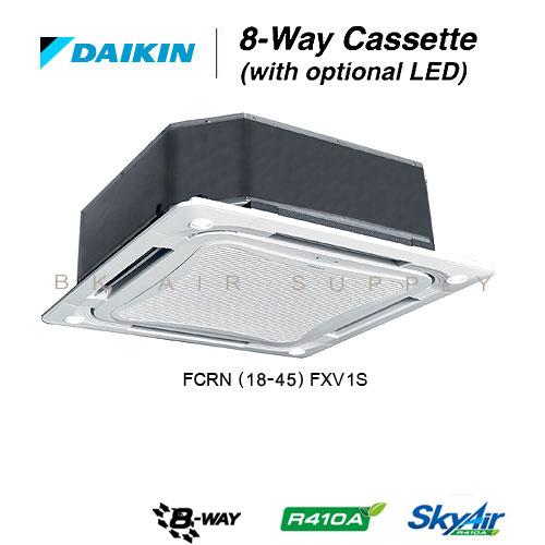 แอร์ไดกิ้น Daikin Cassette FCRN แบบคาสเซ็ท แปดทิศทาง