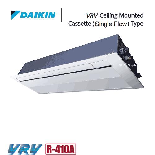 แอร์ไดกิ้น แบบฝังในฝ้ากระจายลม 1 ทิศทาง DAIKIN VRV Technology (Variable Refrigerant Volume)