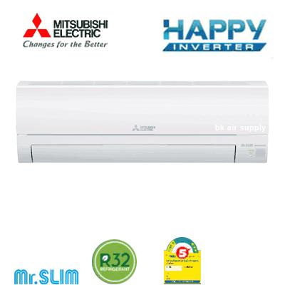 แฮปปี้กับความเย็นเร็ว สบายใจกับคุณภาพ แอร์มิตซูบิชิ Mitsubishi รุ่น Happy Inverter (KS Series)
