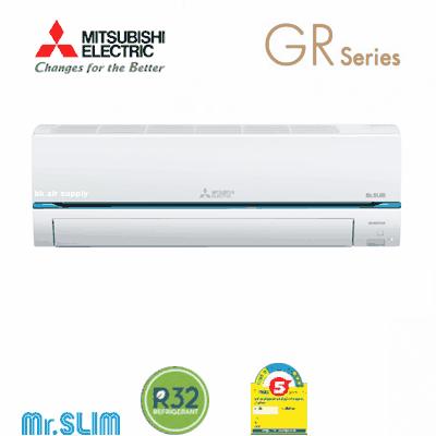 มุ่งมั่นเพื่อความสมบูรณ์แบบ แอร์มิตซูบิชิ Mitsubishi รุ่น Super Inverter (GR Series)