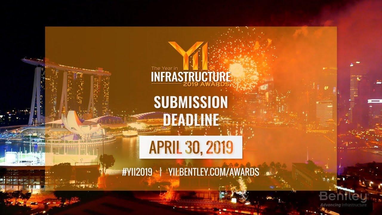 ผลการประกาศรางวัล YII 2019 โครงการก่อสร้างจริงที่ใช้ Bentley