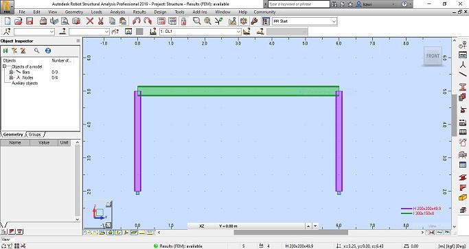 การวิเคราะห์โครงสร้างเหล็กโดยใช้โปรแกรม Autodesk Robot Structural Analysis Professional 2020 (ตอนที่ 2)