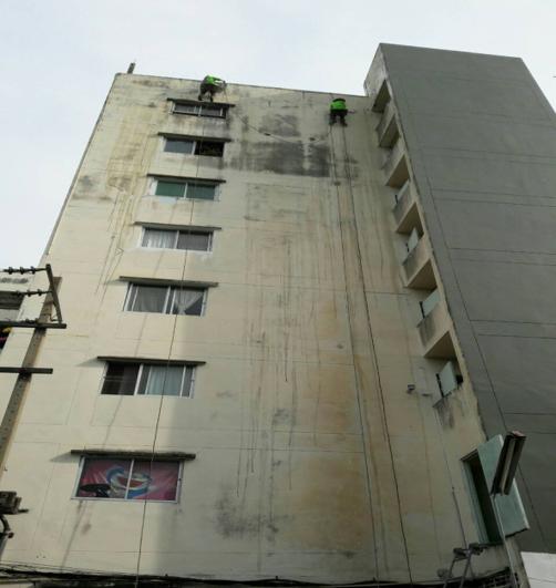 ปรับปรุงทาสีอาคาร