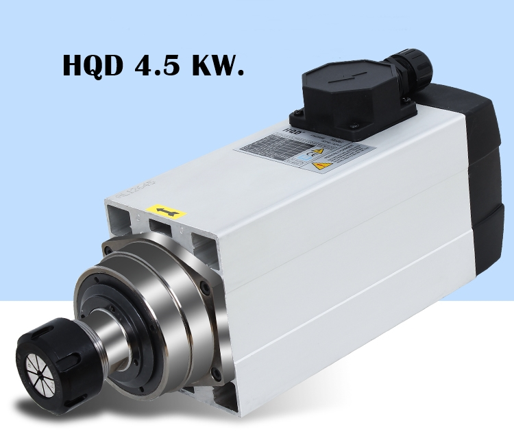Spindle motor 4.5 KW Air cooling