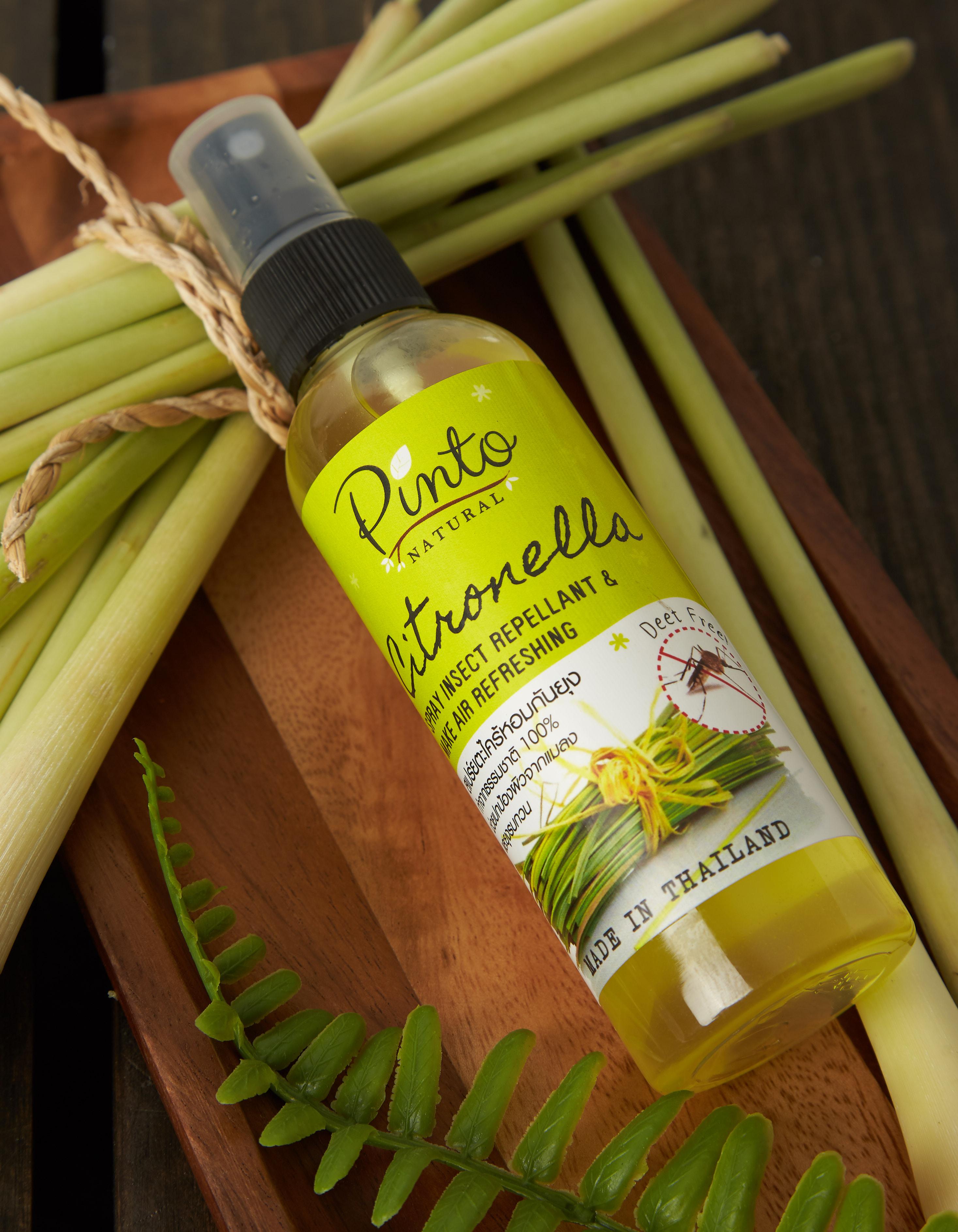 Citronella Insect Spray - สเปร์ยตะไคร้หอมป้องกันยุงและแมลง
