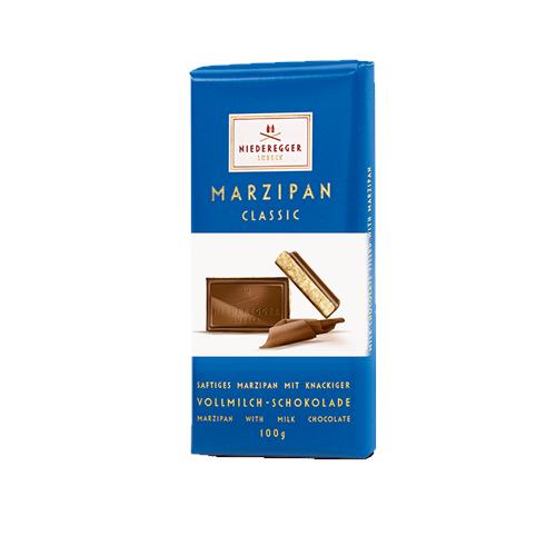 Niederegger Marzipan Milk Choc 100g