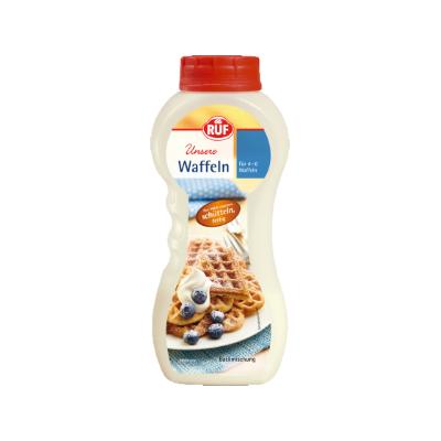 Ruf instant Waffeln Flour shake