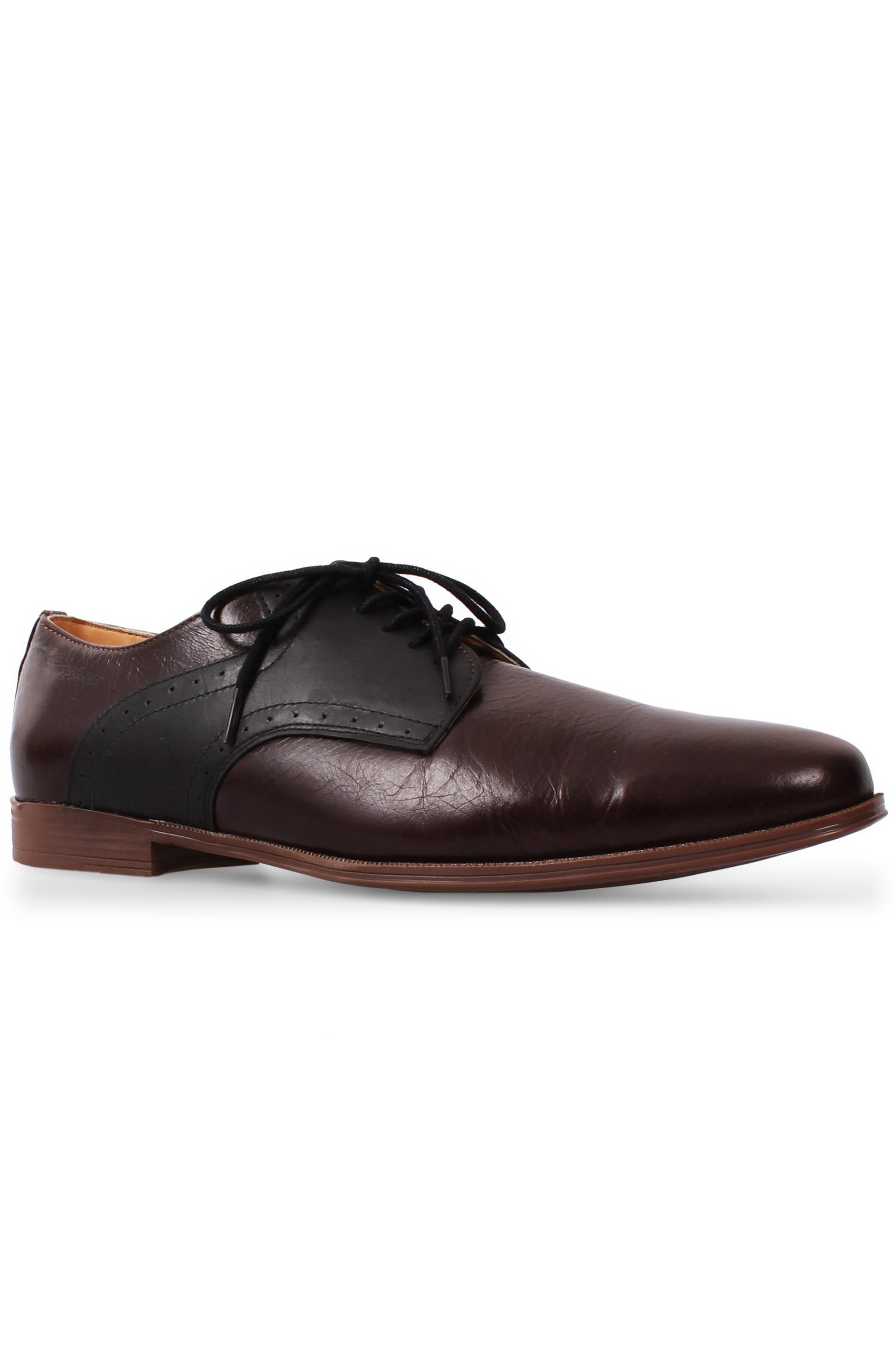 Brown Lace Up Derby