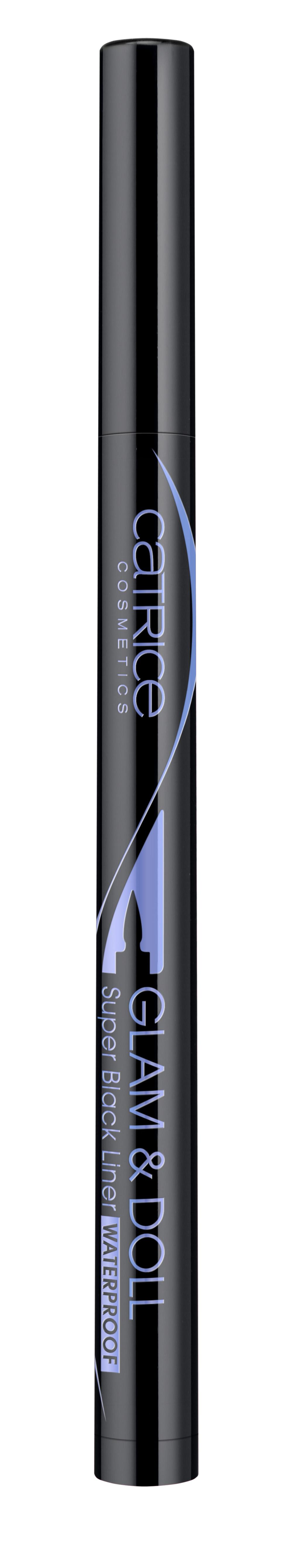 Catrice Glam & Doll Super Black Liner Waterproof 010