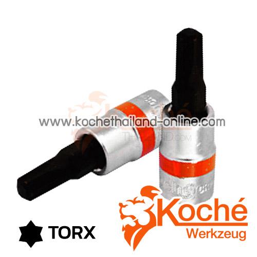 KCH049_T ลูกบล็อกเดือยโผล่ท็อก SQ-DR.1/4 นิ้ว