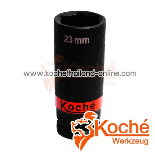 KCH077 ลูกบล็อกลมตัวยาว SQ-DR.1/2 นิ้ว