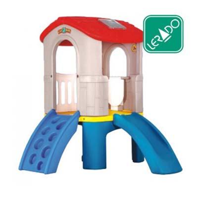 ชุดกระดานลื่น ยี่ห้อ Lerado- ของเล่นพลาสติก ของเล่นสนาม บ้านกระดานลื่น สไลเดอร์ by Sealplay