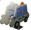 Sealplay ของเล่นสนาม โยกเยกสปริงรถตำรวจ