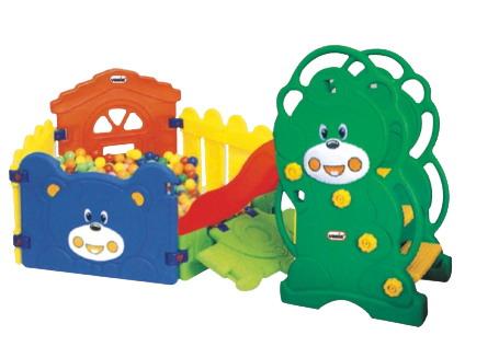 Sealplay ของเล่นพลาสติก สไลเดอร์ กระดานลื่นหมีน้อยพาชู๊ตครบเซ็ต
