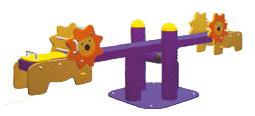 Sealplay ของเล่นสนาม ไม้กระดกสปริงสิงโต