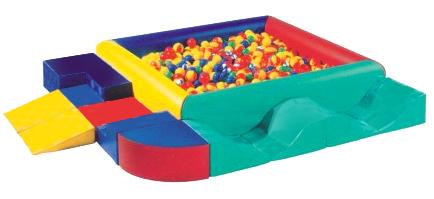 Sealplay ของเล่นเบาะนุ่ม ปีนคลาน บ่อบอลเหลี่ยมเสริมทักษะ