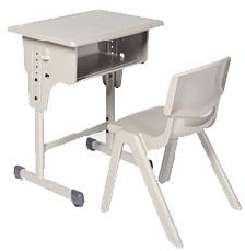 โต๊ะเรียนเดี่ยว หน้าโต๊ะ ABS