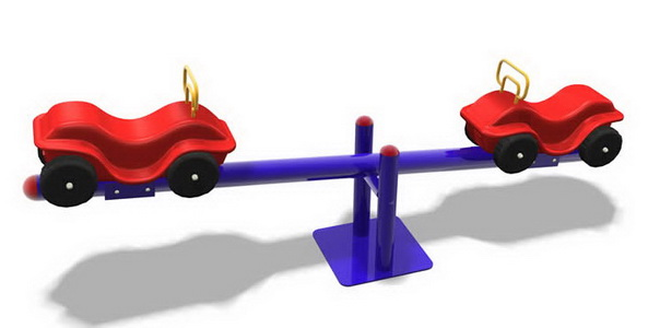 Sealplay ของเล่นสนาม ไม้กระดกรถยนต์ 2 คน
