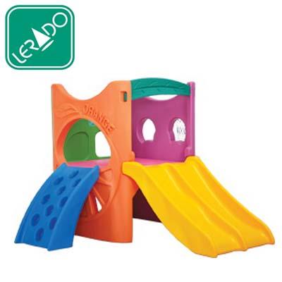 กระดานลื่นผลไม้รวม ยี่ห้อ Lerado- ของเล่นพลาสติก ของเล่นสนาม บ้านกระดานลื่น สไลเดอร์ by Sealplay