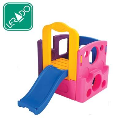 กระดานลื่นสีหวาน ยี่ห้อ Lerado- ของเล่นพลาสติก ของเล่นสนาม บ้านกระดานลื่น สไลเดอร์ by Sealplay