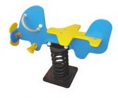 Sealplay ของเล่นสนาม โยกเยกสปริงเครื่องบิน