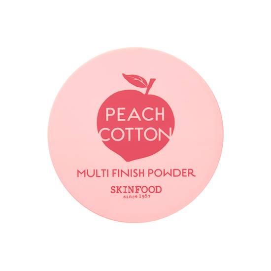 Skinfood Peach Cotton Multi Finish Powder ตลับใหญ่ 15 กรัม