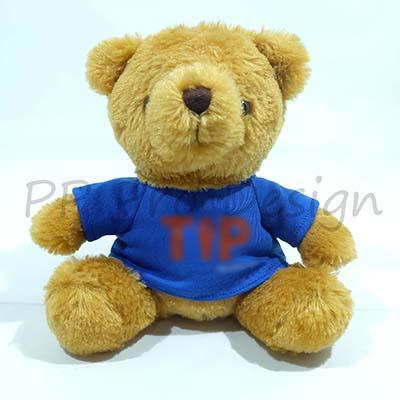 D131 ตุ๊กตาหมีใส่เสื้อ