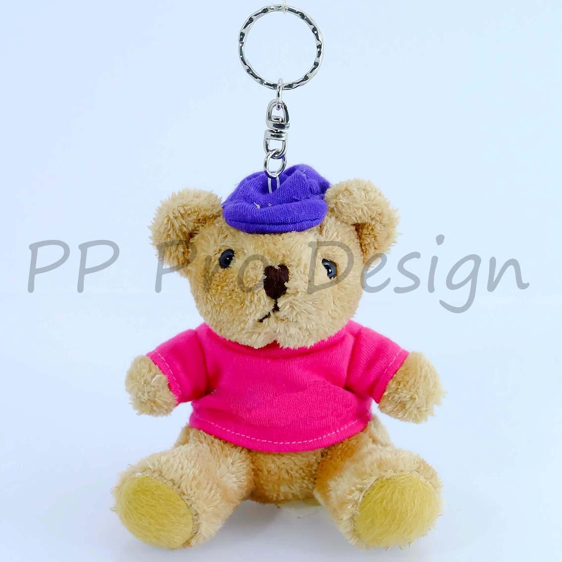 D78 ตุ๊กตาพวงกุญแจหมี