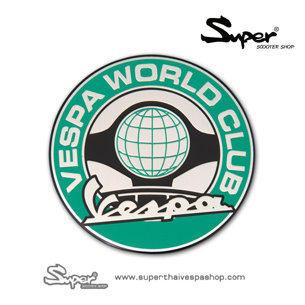 THE SILVER VESPA WORLD BADGE