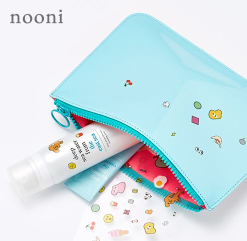 nooni x and-et customizing simple pouch