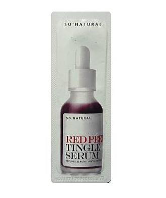 so natural Red Peeling tingle serum 1mlx4ea