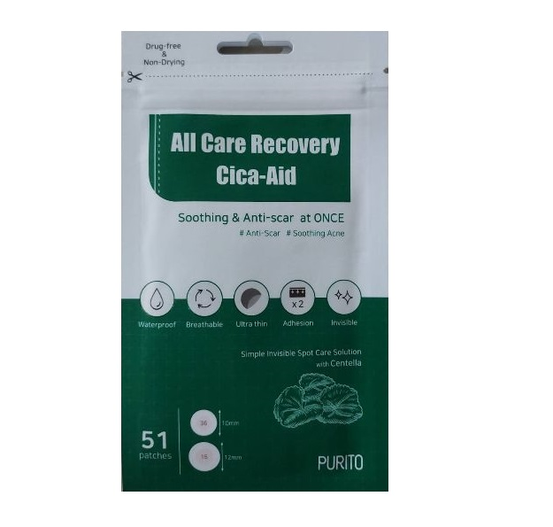 PURITO All care Recovery Cica-Aid _51patches