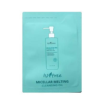 isntree micellar melting cleansing oil 1ml*6ea