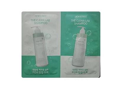 Dewytree the clean lab shampoo 10ml *2ea